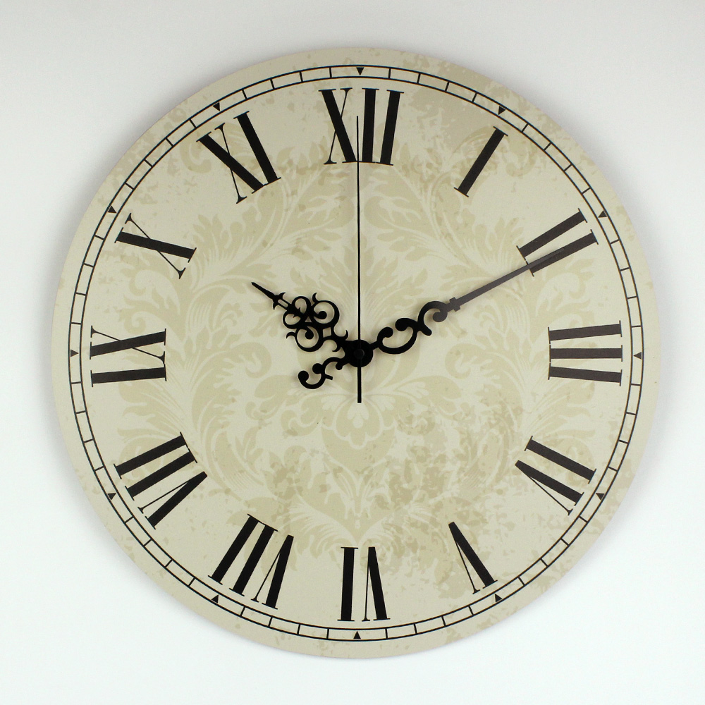 More Silent Large Decorative Wall Clock For Bed Room Decor ...