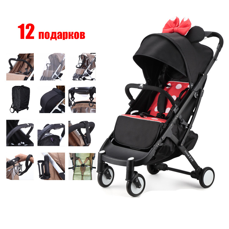 YOYA PLUS font b baby b font strollers ultra lightweight folding can sit can lie high