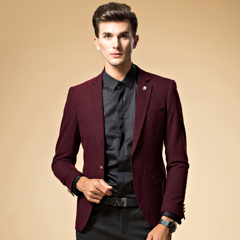 Popular Black and Red Suit Jacket-Buy Cheap Black and Red Suit
