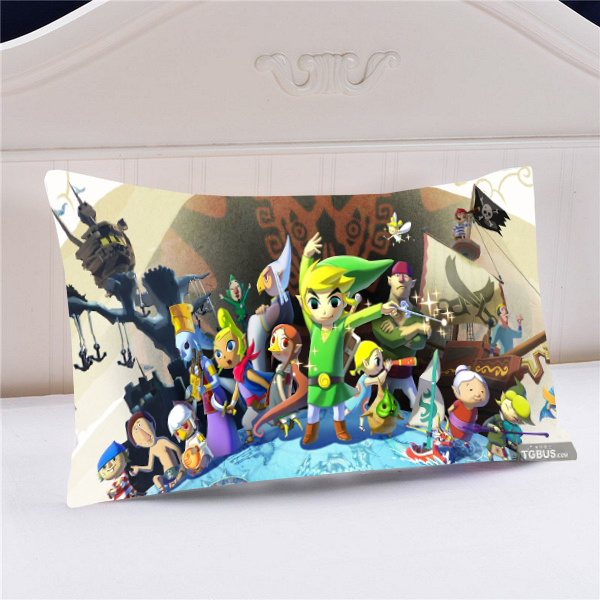 Us 9 69 23 Off New The Legend Of Zelda Anime Characters 60 30cm Pillow Case Covers Pillowcases 40370 In Pillow Case From Home Garden On