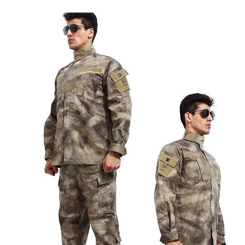Military Tactical Army Uniform Camouflage Jacket + Pants Suits Hunting Clothing Shooting Combat Airsoft Uniform camo suit outdoor game military hunting and shooting accessories tactical camouflage clothing blind for airsoft wildlife photog