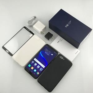 Image 2 - Honor v 10 4G 64G widok 10 oryginalny telefon komórkowy octa core 5.99 cala view10 podwójna kamera tylna id odcisku palca NFC honor v 10