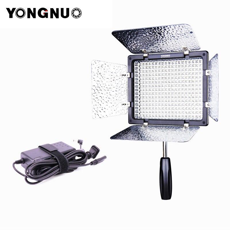 Yongnuo YN300 III 3200 k-5500 k luce Video LED con Adattatore di Alimentazione Sulla Macchina Fotografica Photo Studio di Illuminazione per canon Nikon Olympus Da Sposa
