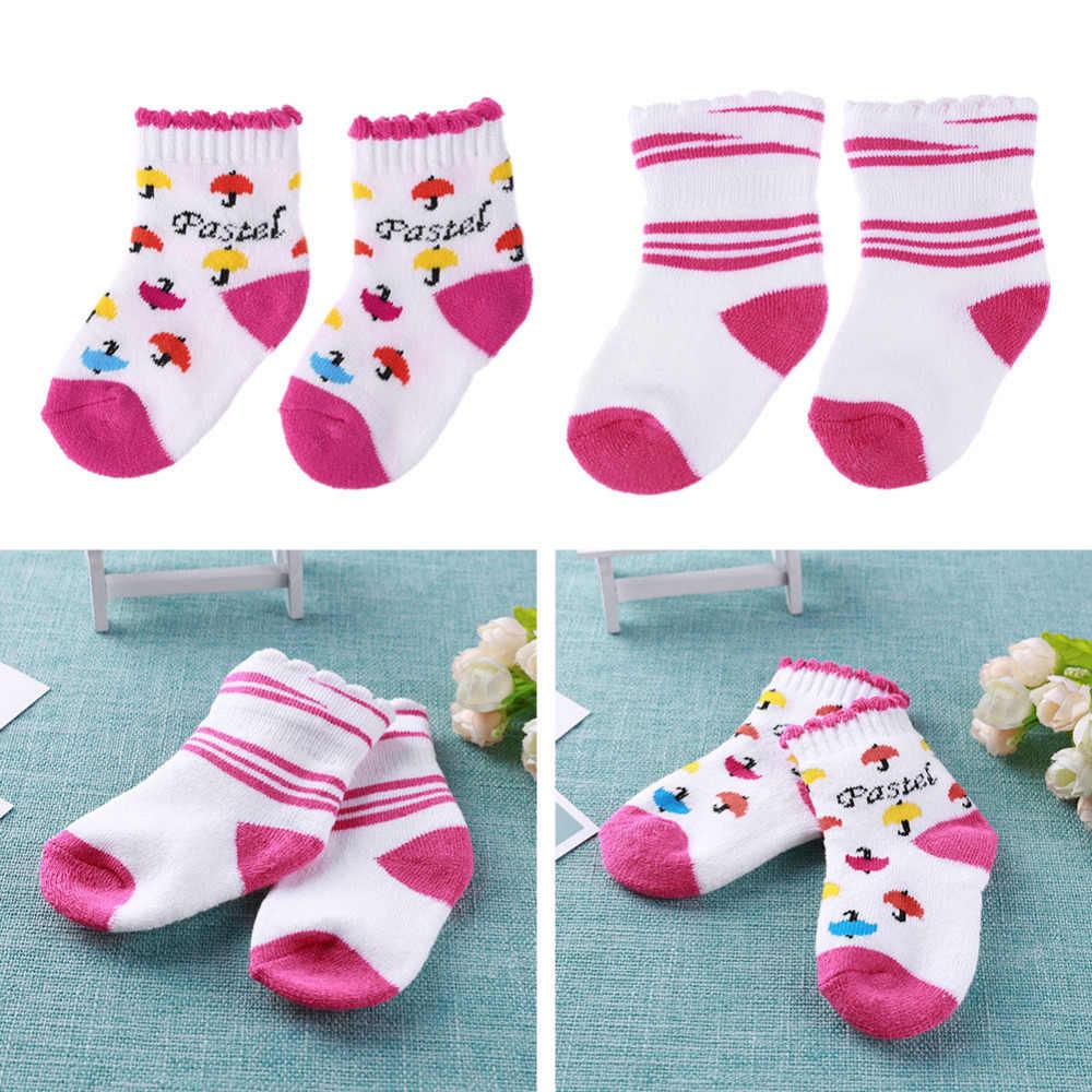 1 par 20 estilos bebé recién nacido algodón invierno calcetines niñas niños suave bucle pila lindo dibujos animados cálido calcetines bebé pie accesorios para ropa