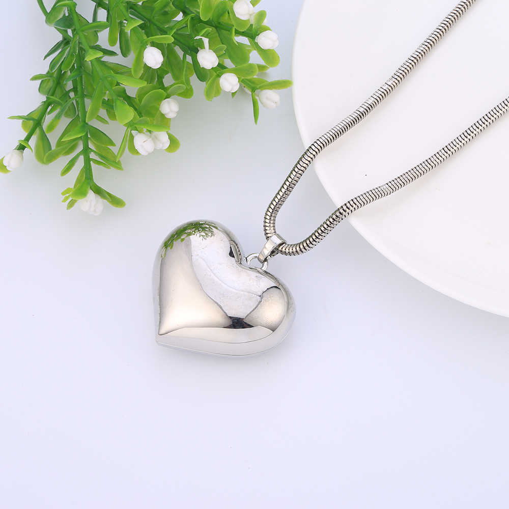 Fashion Gold Big Heart Pendant Necklaces Cute Glossy Long Necklace Jewelry For Women Fashion Birthday Party Gifts drop shipping