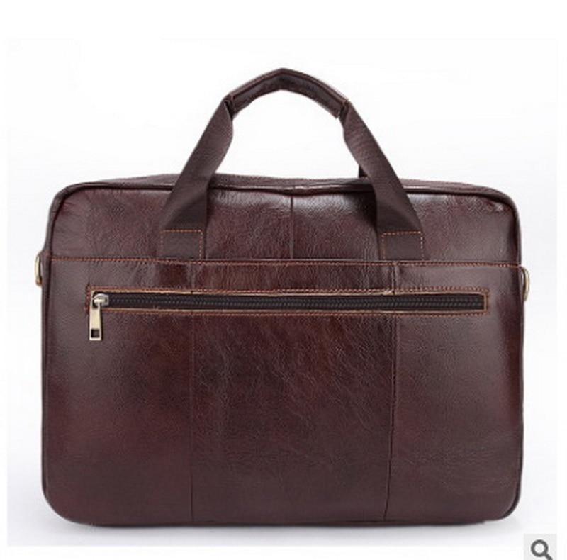 blau Herren Leder Taschen Brown Männer tasche Business Laptop Aktentasche Einzelner Echtes black Schulterbeutel 7xnpBn