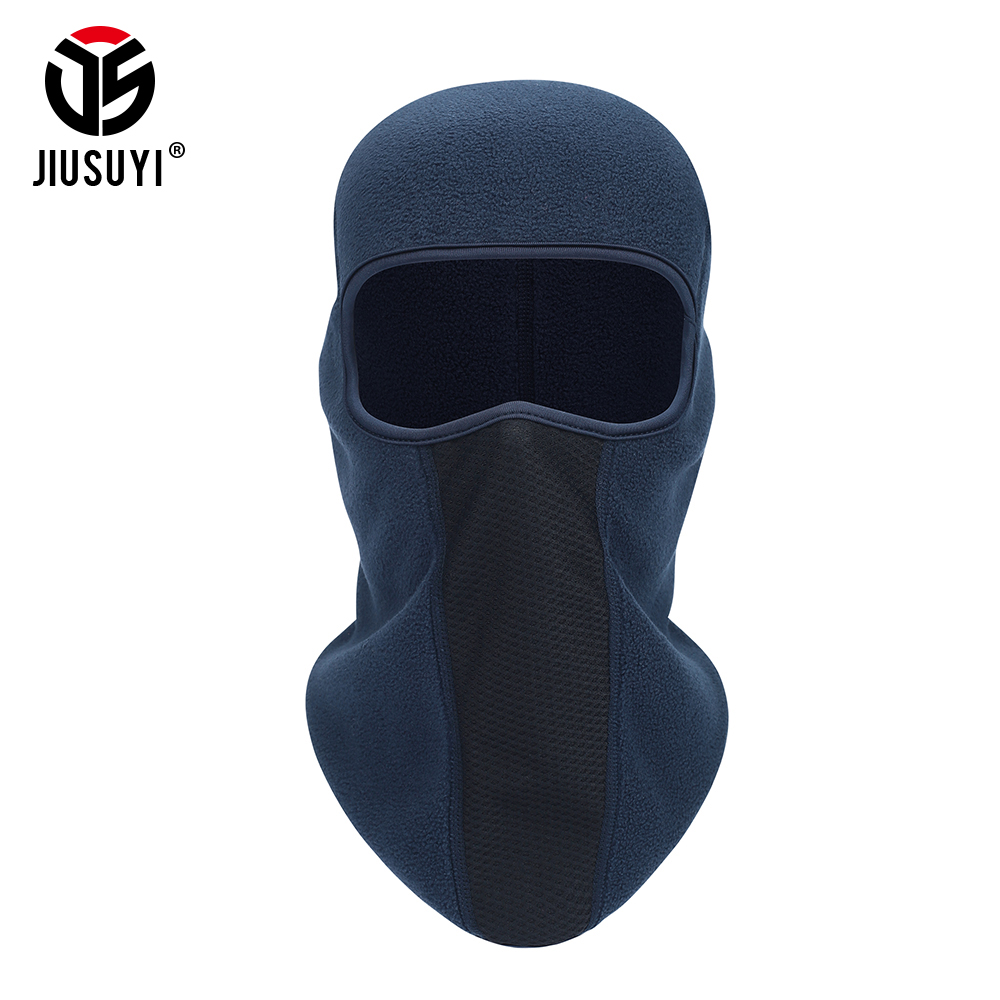 Winter Polar Fleece Thermal Balaclava Face Mask Warm Cap Face Guard Ski Snowboard Helmet Liner Head Shield Beanie Hat Men Women