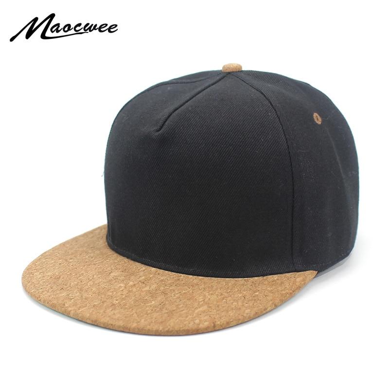 01de2ba7f47 Wholesale Wood Baseball Cap Hip Hop Street Adjustable Snapback Hat Cap  Black Baseball Hats Fashion New