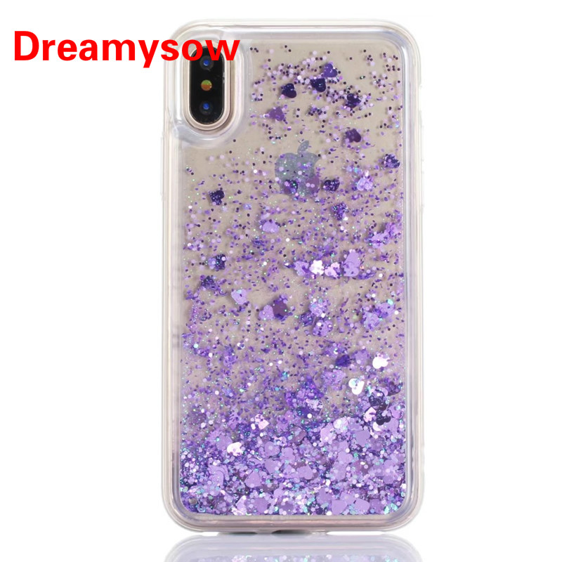 Half-wrapped Case For Samsung Galaxy S9 S9plus Dynamic Liquid Glitter Sand Quicksand Star Soft Tpu Case For Galaxy S9plus Crystal Black Back Cover Latest Technology Phone Bags & Cases