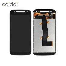 Для Motorola Moto E2 E + 1 Xt1505 Xt1524 Xt1527 Xt1511 ЖК-дисплей Дисплей Сенсорный экран мобильного телефона планшета Ассамблеи Запчасти для авто