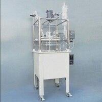 100L одноэтажный стеклянный химический реактор, химический реактор сосуд w водяная Ванна