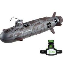 Лидер продаж года всенаправленная дистанционное управление Seawolf Обновление версии rc мини подводная лодка 6-канальный 35 см RC ядерной энергетики подводная лодка детские игрушки