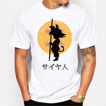 One Punch Man Saitama Star Wars Dragon Ball Z Super Saiyan Son Goku Costome Cosplay T Shirt T-Shirt Tshirt 1