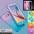 360 Shockproof Waterproof Dirt-resistant Anti-knok Hard Case Cover Tempered Glass For Samsung S6 S7/iPhone 5 6S 7