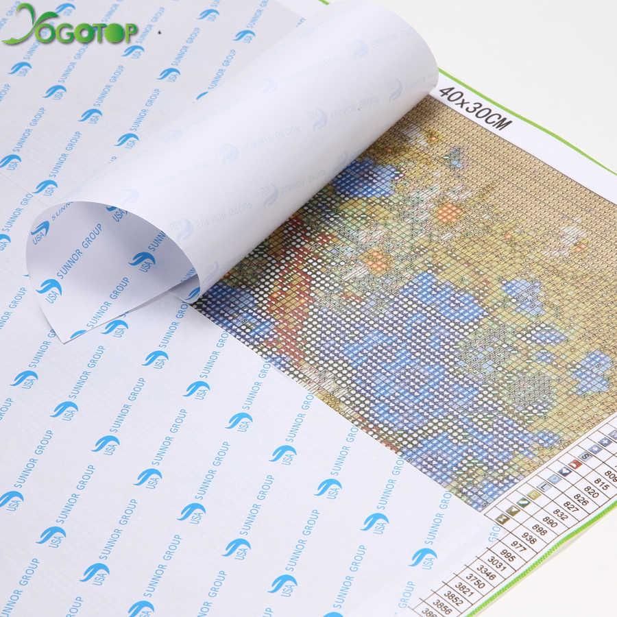 YOGOTOP 5D Diy diament malarstwo Cross Stitch boże narodzenie bałwan 5D diament mozaika do dekoracji pełny haft diamentowy mikołaj ZB874
