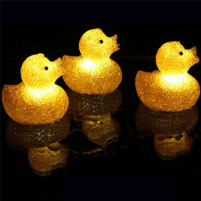 Cute Gifts Toys Desk LED Night Lovely Sleeping Lamps Baby Room Duck ...