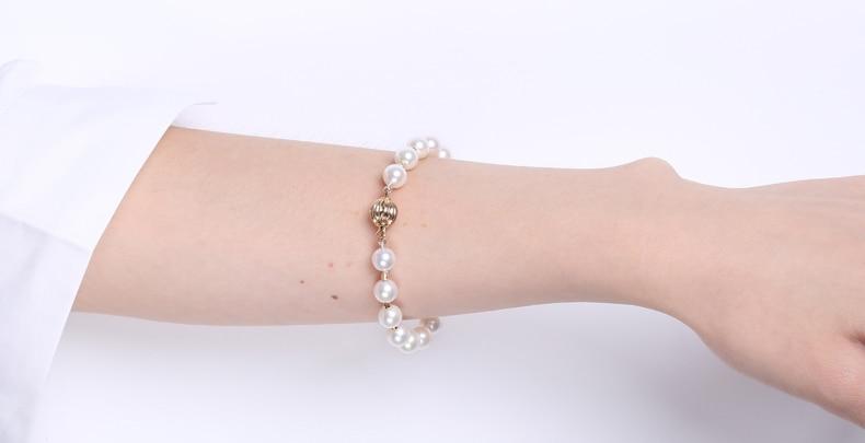 Akoya Pearl Bracelet detail 5