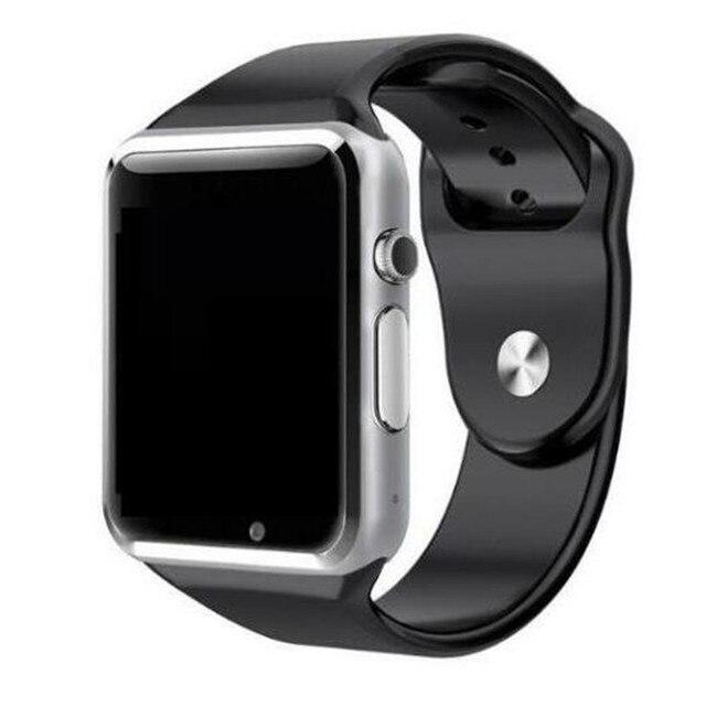 2019 montre-bracelet A1 Bluetooth montre intelligente Sport podomètre avec caméra SIM Smartwatch pour Smartphone Android russie T15 PK DZ09