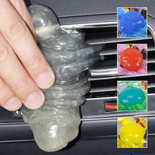 beler Magical Car Clean Glue Air Outlet Vent Dashboard Storage Box Conditioner Interior Cleaning Tool For
