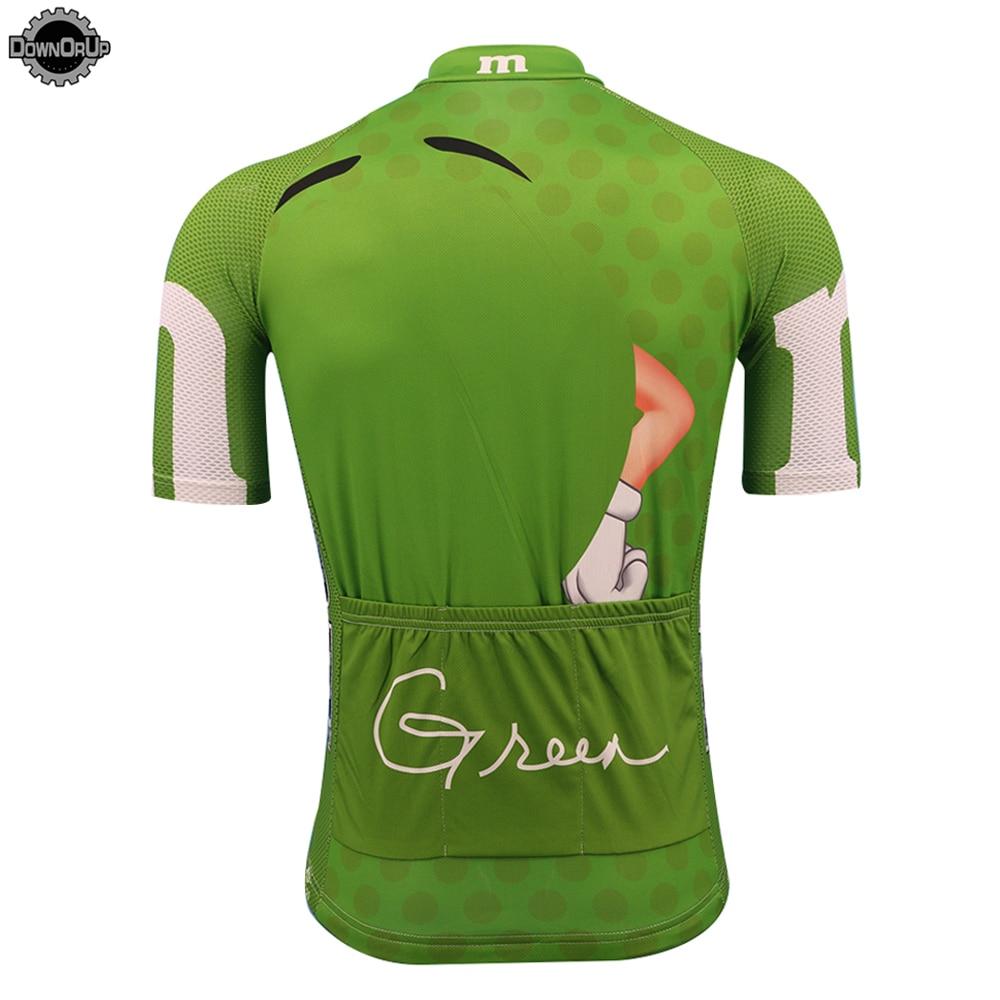 2019 M/&Ms Mens Cycling Jersey and Bib Shorts Cycling Clothing Short Sleeve