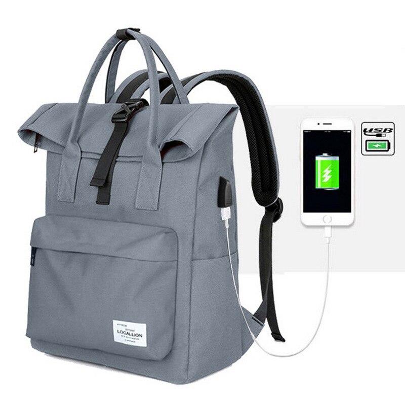 New Multi-function USB charging Men Laptop Backpacks Outdoor Bags Sport Male Travel backpack large capacity Rucksack Gym Bags