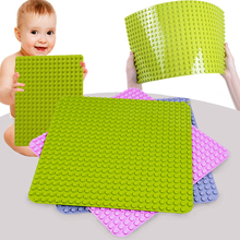 GOROCK Duploe Big Blocks Base Plate 764 Dots DIY Large Baseplate Building Blocks Toys For Children Compatible with Duploe