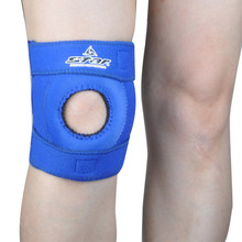 Sports Elastic Knee Support Brace Kneepad Adjustable Patella Knee Pads Safety Guard Strap For Basketball Free Size