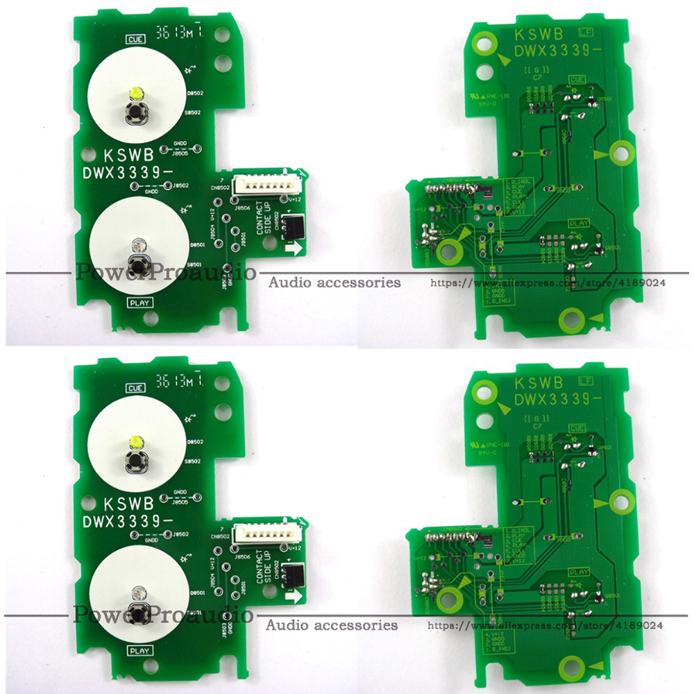 4pcs lot Play Cue Circuit Board PCB DWX 3339 DWX3339 For Pioneer CDJ 2000 Nexus GREEN