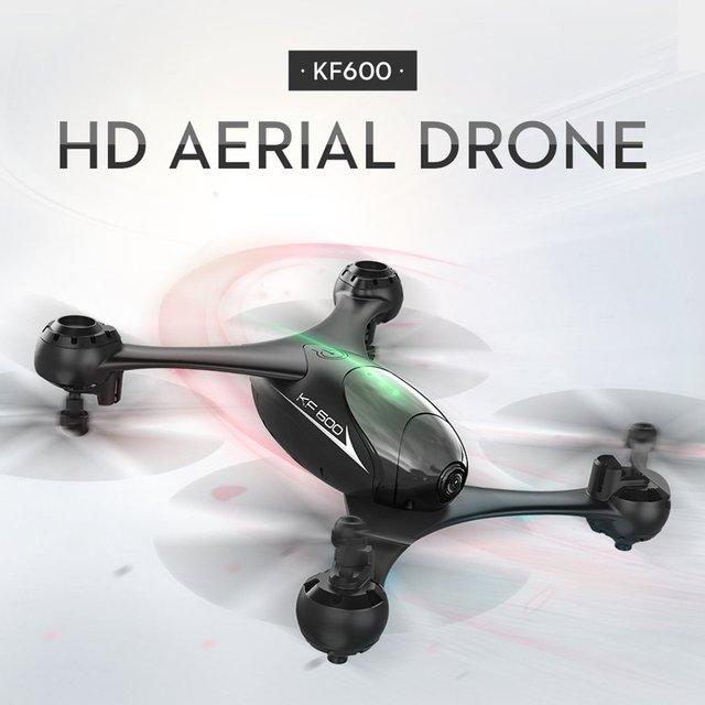 Navidad KF600 RC Quadcopter Drone con 720 P Cámara 3D Flip modo sin cabeza gesto Autophoto de altitud de flujo óptico posición