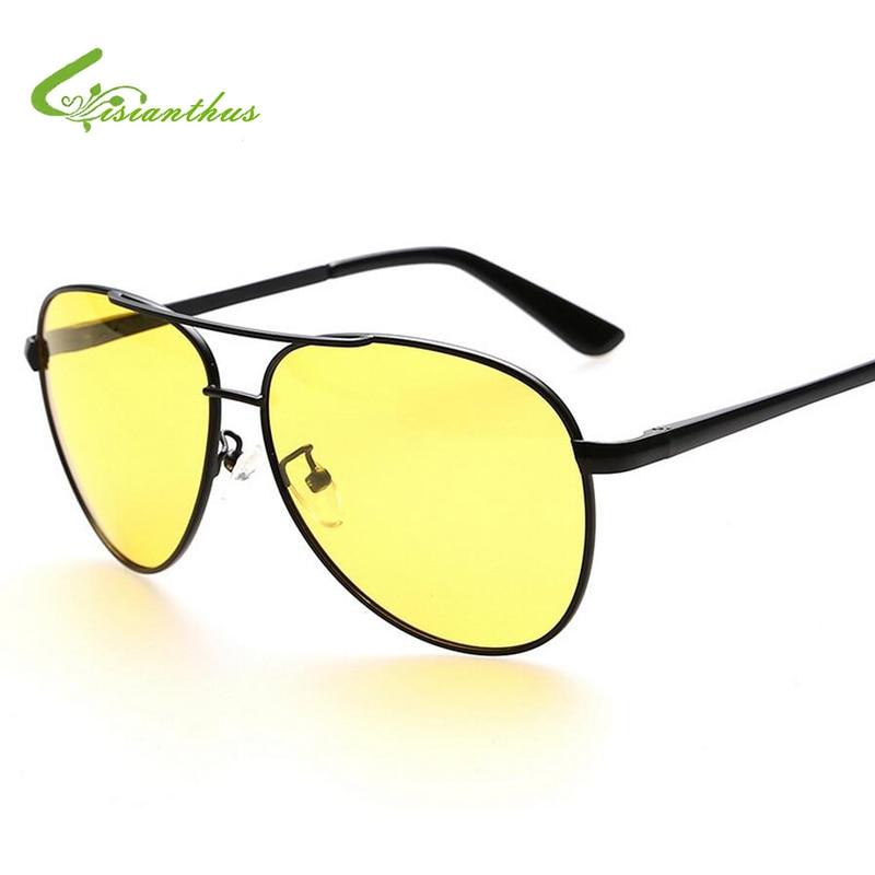 04af3b541bf Yellow Lens Polarized Sunglasses Men Women Night Vision Goggles Driving  Glasses Driver Polaroid Sun Glasses UV400