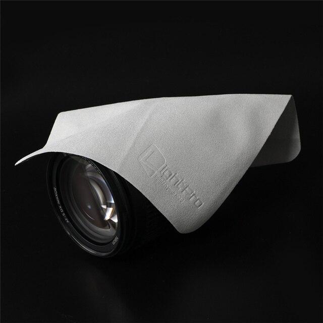 กล้องเลนส์ Superfine Suede ผ้าทำความสะอาดหน้าจอแก้วเลนส์สำหรับ Canon Nikon Sony UV CPL iPhone แท็บเล็ตคอมพิวเตอร์