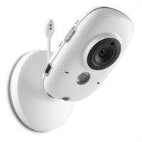 Monitor Do Bebê Sem Fio Mini Câmera SANNCE 3.2 polegada Displayer Noite Vigilância Vision Camera para Home Security Cor Branca|Monitores de bebê| |  -