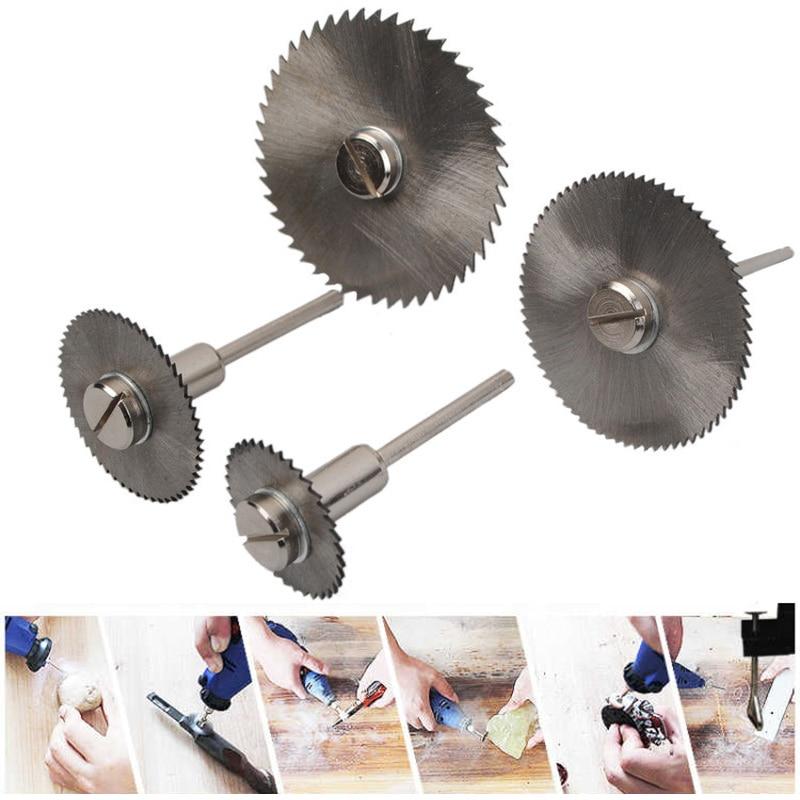 HSS Circular Saw Blades Wood Cutting Discs Rotary Blades Tool Mandrel Set MJJ88