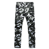 Brand Men S Straight Casual Pants Male Cotton Slim Military Camouflage Cargo Pants Outdoor Sport Army