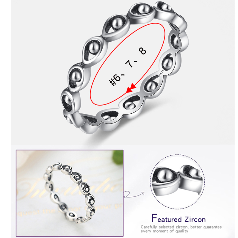 BELAWANG Luxury Wedding Engagement Ring for Women Fashion 925 Sterling Silver Rings With Stackable LEAVE Vintage Jewelry Gift