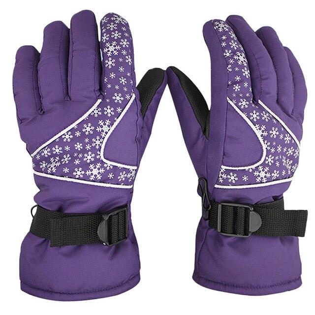 Теплые лыжные сноубордические лыжные перчатки мужские женские велосипедные мотоциклетные зимние перчатки ветрозащитные непромокаемые зимние перчатки #1s18 # F