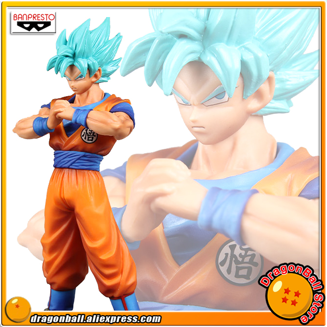 Dragon Ball SUPER Original Banpresto DXF THE SUPER WARRIORS vol.4 Collection Figure - Super Saiyan God Super Saiyan Son Goku