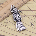 Charms grim reaper death 10pcs 51*19mm Tibetan Silver Plated Pendants Antique Jewelry Making DIY Handmade Craft