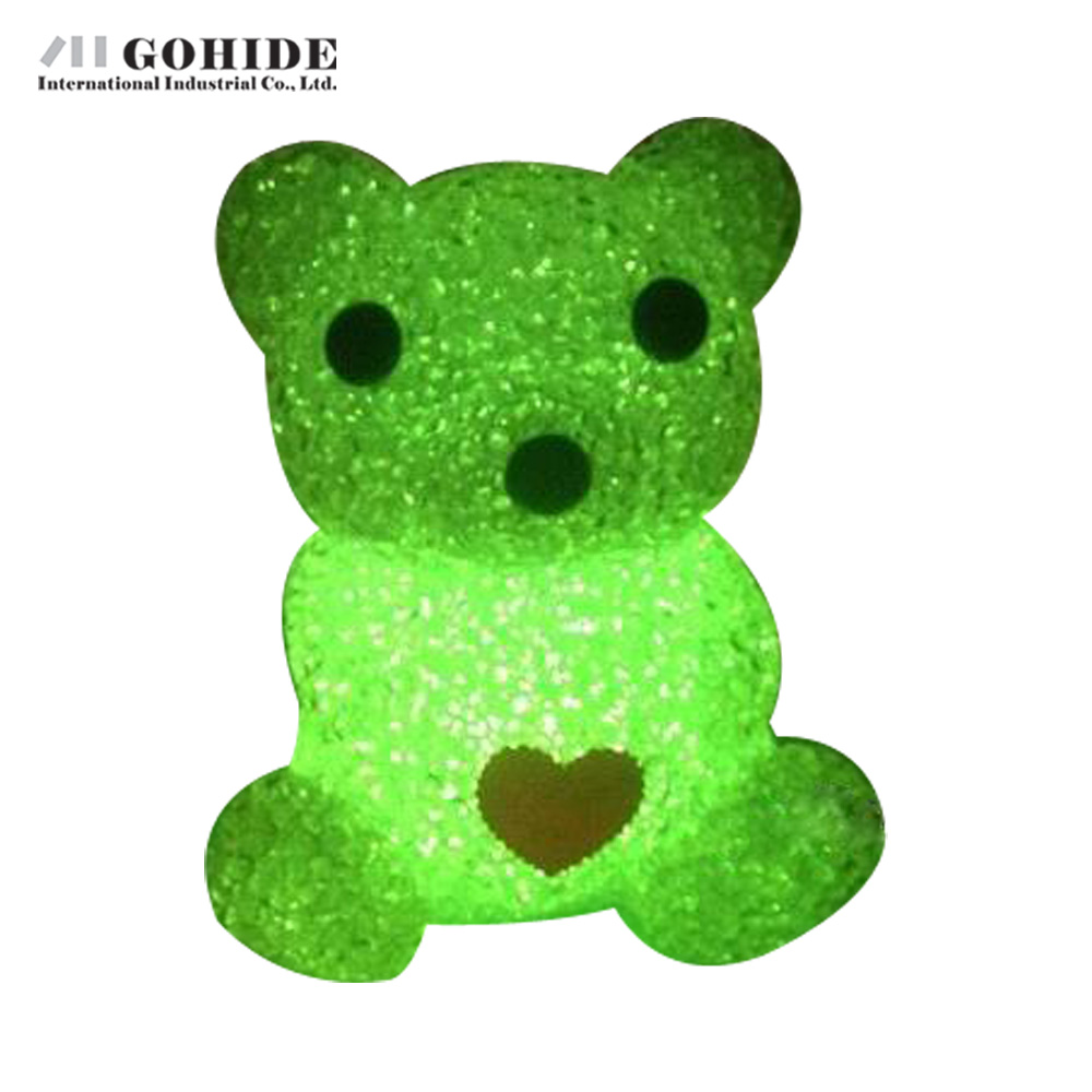 Led night lamp manufacturers - Gohide 1pcs Large Crystal Craft Gift Bears Nightlight Led Night Light Lamp For Kids Room Novelty Night Light For Children