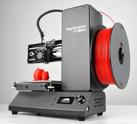 2018 wanhao direto da fabrica de marketing fdm desktop maquina impressora 3d i3 mini com