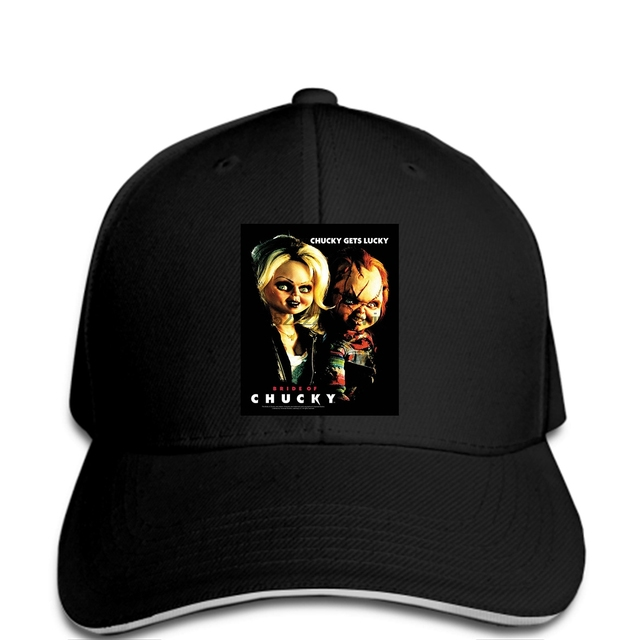 c14178afb US $9.9 |Men Baseball cap Fashion Casual Baseball caps Bride Chucky Gets  Lucky Simple Graphic Design Clothes Fancy Black women-in Baseball Caps from  ...