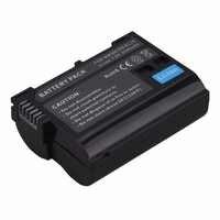 Alta calidad 2550 mAh EN-EL15 ENEL15 es EL15 decodificado de batería de la cámara para Nikon DSLR D600 D610 D800 D800E D810 D7000 d7100 D7200 V1