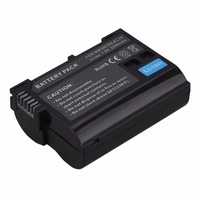 High Quality 2550mAh EN EL15 ENEL15 EN EL15 Decoded Camera Battery For Nikon DSLR D600 D610