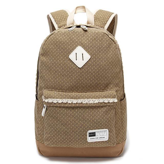 Cute Backpacks For Girls Fresh Lace Girly School Bag Canvas School ...