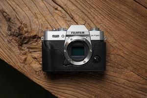 Image 2 - Fuji XT30 X T20 X T30 XT20 camera Mr.Stone Handmade Genuine Leather Camera case Video Half Bag Camera Bodysuit