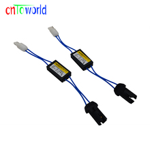 2x 12V T10 LED Warning Canceller Decoder T10 501 W5W NO Canbus OCB Error Load Resistor(China)