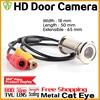 3 28BigSale HD 800TVL Cat Eye Door Hole Security Color Camera CMOS 3 6mm Peephole Cctv