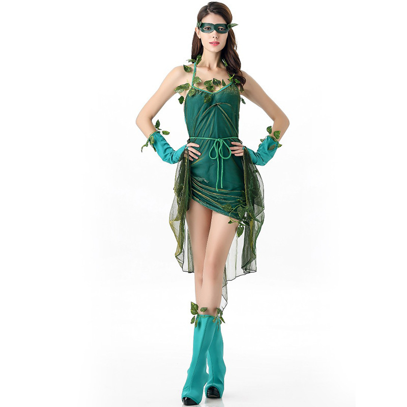 Free Shipping Lethal Halloween Costume Sexy Green Forest Party Fairy Costume Beautiful Dress Women Big Tree Demon Costume-in Holidays Costumes from Novelty ...  sc 1 st  AliExpress.com & Free Shipping Lethal Halloween Costume Sexy Green Forest Party Fairy ...