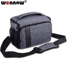Wennew DSLR Водонепроницаемый Камера сумка Фото чехол для Nikon D7500 D7200 D5600 D5500 D5300 D3400 D810 D800 плеча крышки SLR сумка