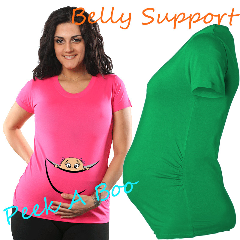 Plus Size Maternity Tees